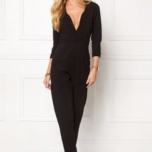 Girl In Mind Jumpsuit Black