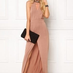 Girl In Mind Long Dress Mocha