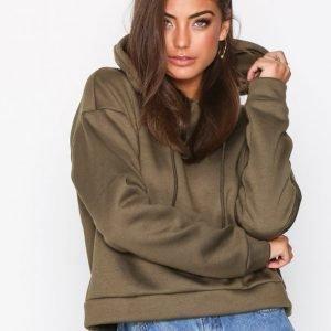 Glamorous Andrea Plain Hoodie Huppari Khaki