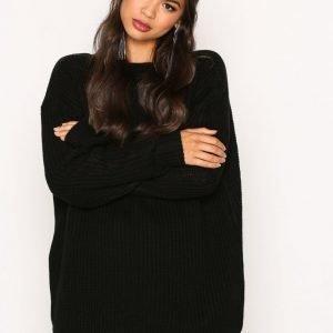 Glamorous Cosy Knit Neulepusero Black
