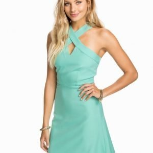 Glamorous Cross Over Skater Dress