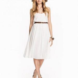 Glamorous Double Strap Maxi Dress Skater Mekko White