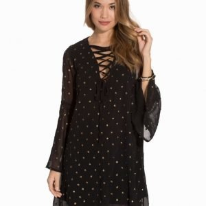 Glamorous Embellished Tie Up Dress