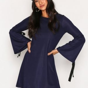 Glamorous Knot L / S Dress Loose Fit Mekko Navy