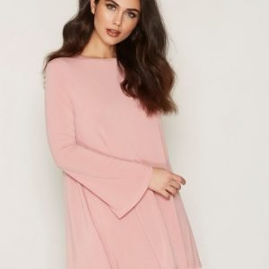 Glamorous L / S Skater Dress Loose Fit Mekko Dusty Pink
