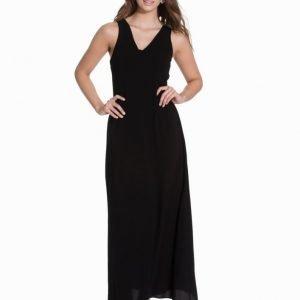 Glamorous Lace Up Sleeveless Maxi Dress