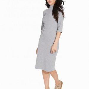 Glamorous Short Sleeve Bodycon Pitkähihainen Mekko Grey Marl