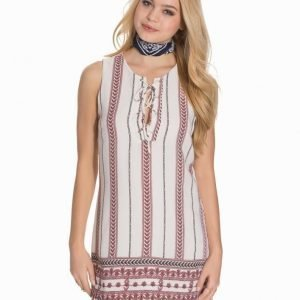Glamorous Tribal Tie Dress