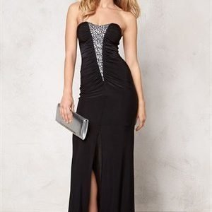 Goddiva Dress Black