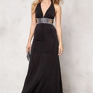Goddiva Dress Black