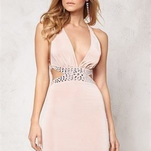 Goddiva Dress Champagne