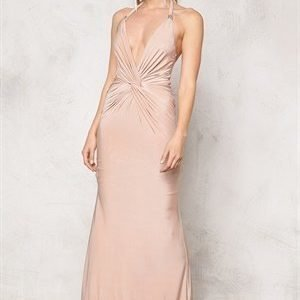 Goddiva Dress Nude