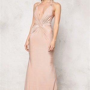 Goddiva Dress Nude