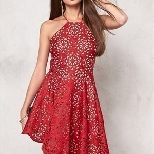 Goddiva Dress Red