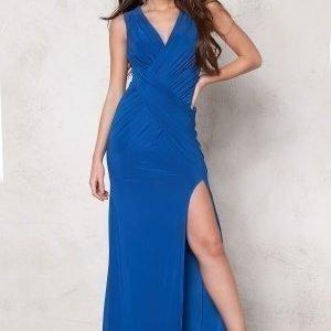 Goddiva Dress Royal Blue