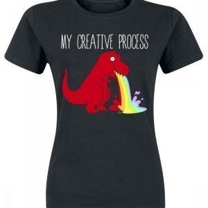 Goodie Two Sleeves My Creative Process Naisten T-paita