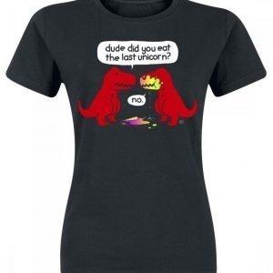 Goodie Two Sleeves The Last Unicorn Naisten T-paita