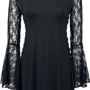Gothicana By Emp Angel Sleeve Shirt Naisten Pitkähihainen Paita