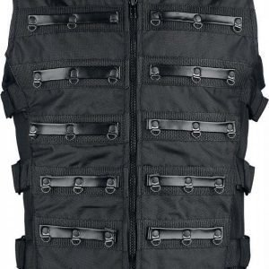 Gothicana By Emp Black Warrior Vest Liivi