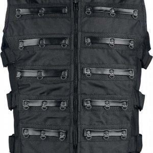 Gothicana By Emp Black Warrior Vest Liivi