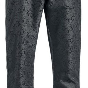 Gothicana By Emp Brokat Pants Boot Cut Kangashousut