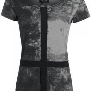 Gothicana By Emp Cross Application Shirt Naisten T-paita