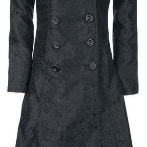 Gothicana By Emp Dark Blood Brocade Coat Naisten Maiharitakki