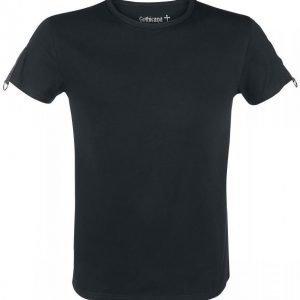 Gothicana By Emp Eyelet Shoulder Shirt T-paita