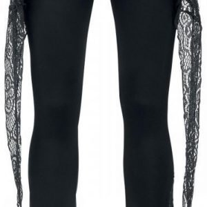 Gothicana By Emp Lace Boot Cut Leggings Legginsit