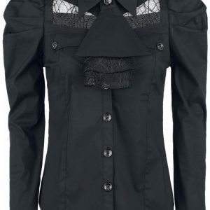 Gothicana By Emp Lace Ladies Shirt Naisten Pusero