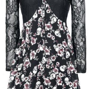 Gothicana By Emp Lace Overlay Dress Mekko