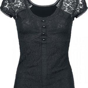 Gothicana By Emp Lace Shirt Naisten T-paita
