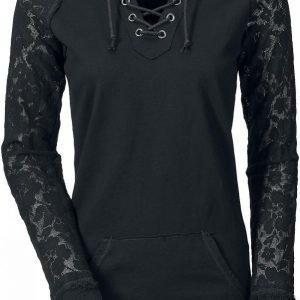 Gothicana By Emp Lace Sleeve Naisten Huppari