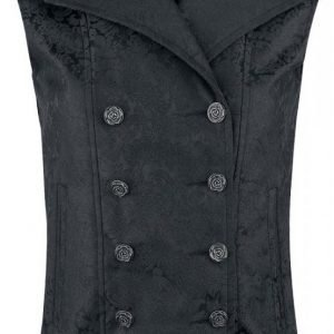 Gothicana By Emp Ladies Baroque Vest Naisten Liivi