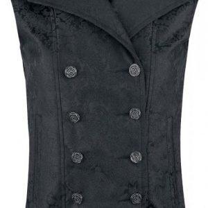 Gothicana By Emp Ladies Baroque Vest Naisten Liivi