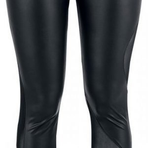 Gothicana By Emp Leather Look Mesh Leggings Legginsit