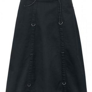 Gothicana By Emp Long High Waist Skirt Pitkä Hame