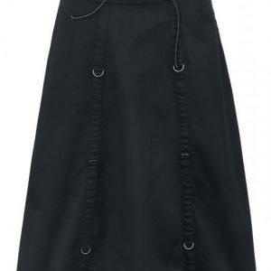 Gothicana By Emp Long High Waist Skirt Pitkä Hame