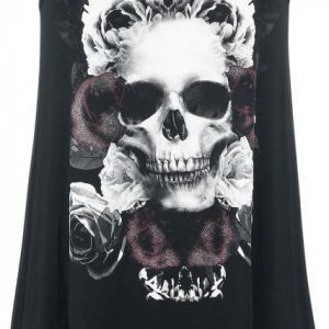 Gothicana By Emp Loose Skull Top Naisten Toppi