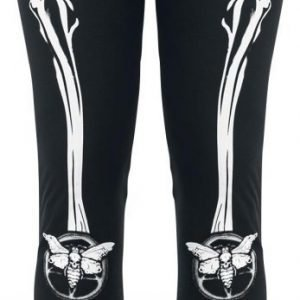 Gothicana By Emp Moth Bones Leggings Legginsit