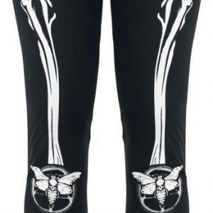 Gothicana By Emp Moth Bones Leggings Legginsit