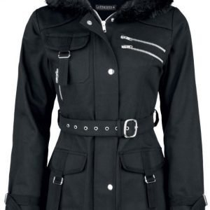 Gothicana By Emp Multi Pocket Jacket Naisten Talvitakki