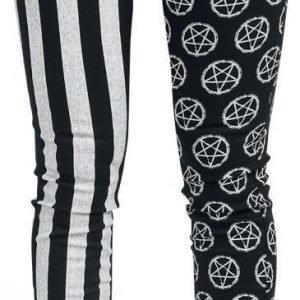 Gothicana By Emp Penta Stripe Pants Naisten Kangashousut
