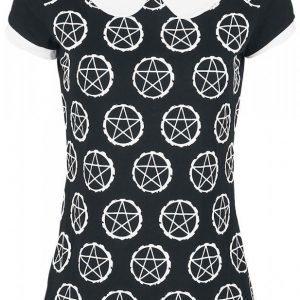 Gothicana By Emp Pentagram Shirt Naisten T-paita