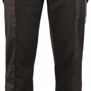 Gothicana By Emp Pinstripe Satin Pants Boot Cut Kangashousut