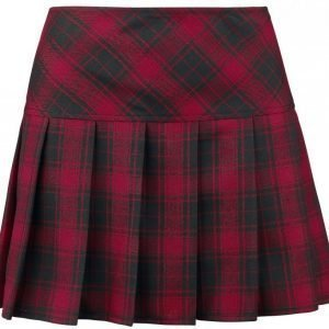 Gothicana By Emp Plaid Pleated Skirt Lyhyt Hame
