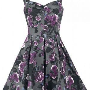 Gothicana By Emp Pleated Swing Dress Mekko