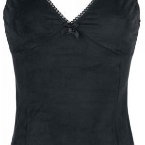 Gothicana By Emp Skull Lace Top Naisten Toppi