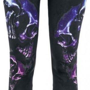 Gothicana By Emp Skull Ornament Leggings Legginsit