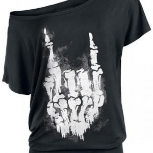 Gothicana By Emp Skullhand Shirt Naisten T-paita
